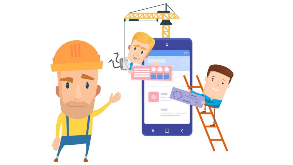 build web application